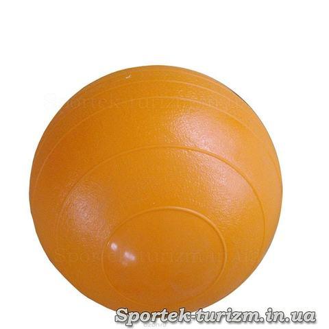 Мяч для гимнастики и фитнеса гладкий диаметром 45 см