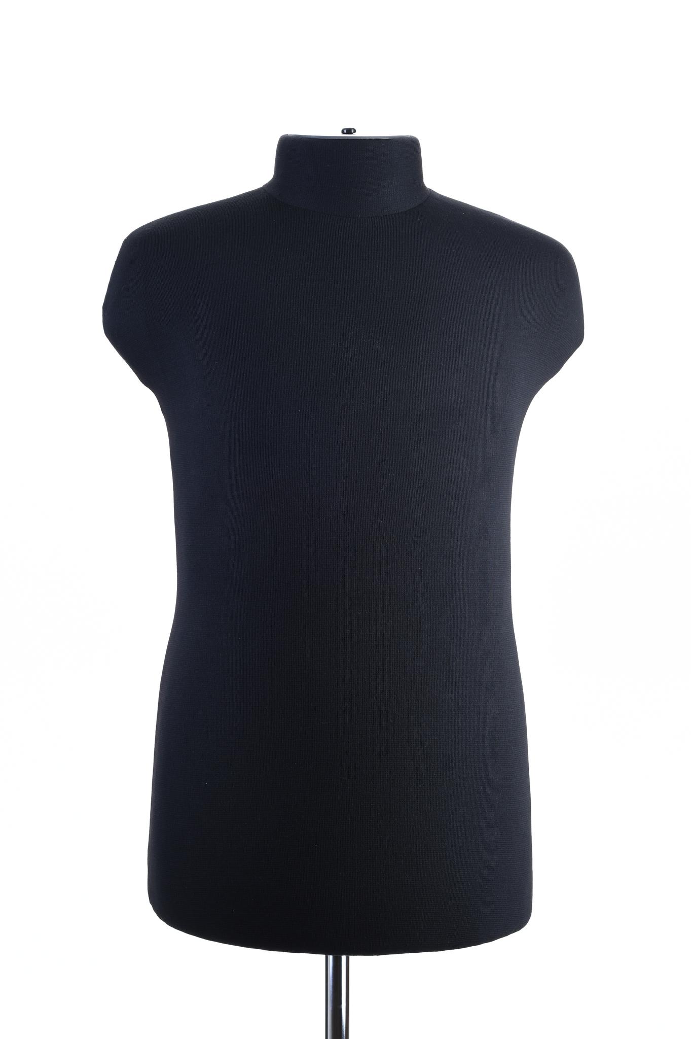 Мягкий манекен мужской 52 размер (черный цвет)
