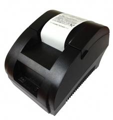 Принтер чеков  Termal Recept Printer DX-58, черный