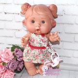Пупс Nines D'Onil Забава в цветочном платье 26 см