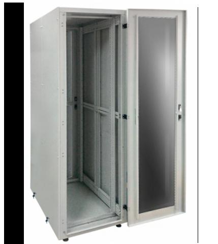 Заказать и купить Шкаф серверный 19 СрШ-42U-06-10-ДС со стеклянной дверью: цена в Москве от производителя