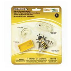 Набор фигурок Жизненный цикл пчелы, Safari Ltd.
