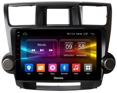 Штатная магнитола на Android 8.1 для Toyota Highlander 07-14 Ownice G10 S1616E