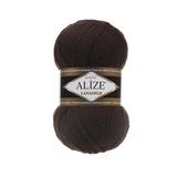Пряжа Alize Lanagold 26 шоколад