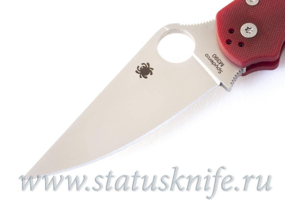Нож Spyderco Paramilitary 2 C81GPRD2 M390 Red - фотография