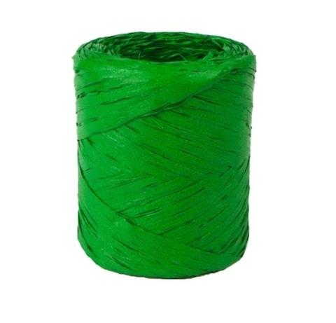 Рафия искусственная Польша 200 м Цвет:зеленая