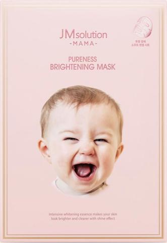 JMsolution Тканевая маска для сияния кожи MAMA PURENESS BRIGHTENING MASK 30 мл.