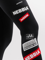 Лосины NEBBIA Labels leggings 504 black