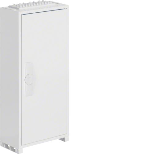 Щиток открытой установки,секционный,с оснасткой,IP44,650x300x161мм (ВхШхГ),одна дверь,RAL9010