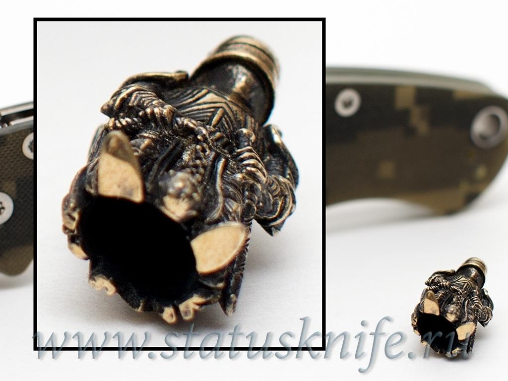 Темлячная бусина Латник - фотография