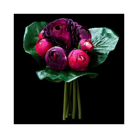 Букет ранулкулусов фиолетовых
