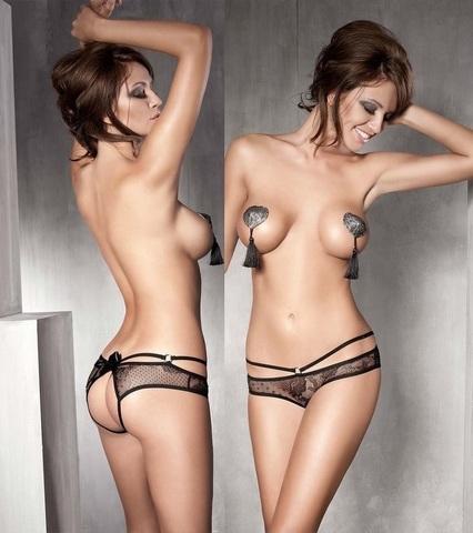 Эротичные джоки из ажурной сетки Permission (BS)