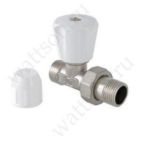 Клапан для радиатора регулировочный прямой