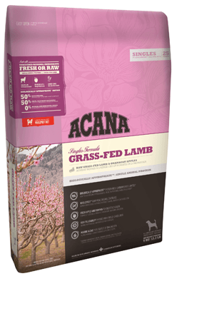 Сухой корм Корм для собак Acana Grass-fed lamb с мясом новозеландского ягненка Grass-Fed_Lamb_new.png