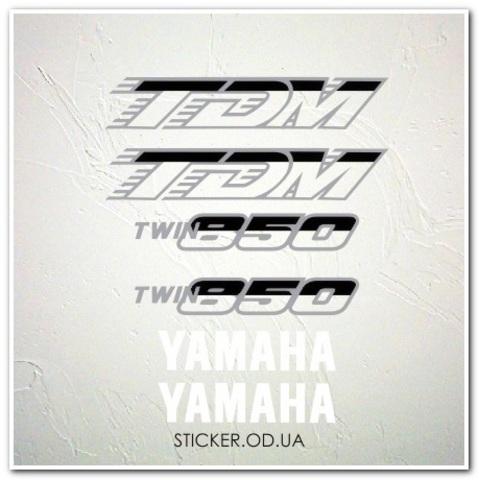 Наклейки на мотоцикл Yamaha