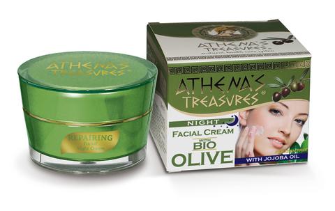 Ночной крем для лица ATHENA'S TREASURES 50 мл