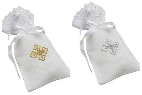 Мешочек для крестика и локона