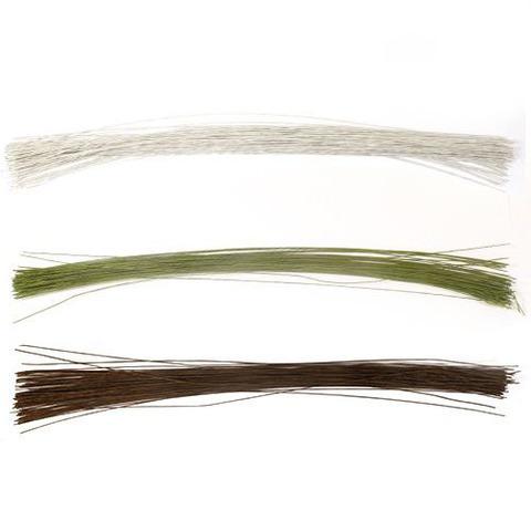 Проволока флористическая 40 см.(герберная проволока) 0,8 мм., 10 шт. (выбрать цвет)