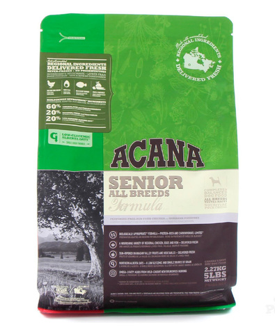 Acana Heritage Senior сухой корм для собак старше 7 лет 340 г