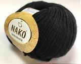 Пряжа Nako Merino Blend DK 217 черный