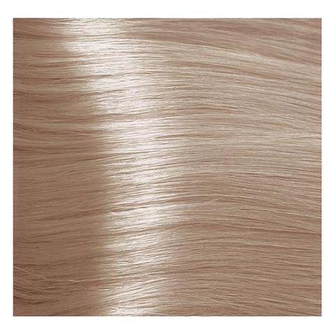 Крем краска для волос с гиалуроновой кислотой Kapous, 100 мл - HY 9.085  Очень светлый блондин пастельный розовый