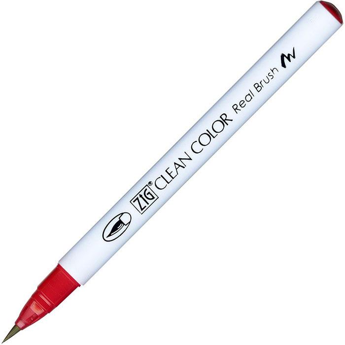 Маркер акварельный ZIG Clean Color Real Brush- штучно -Wine Red - 024