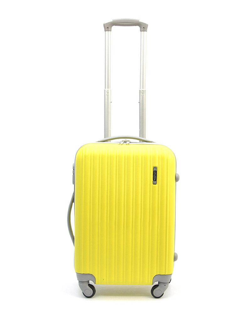 Чемодан Ananda APL-833 Желтый (S+)