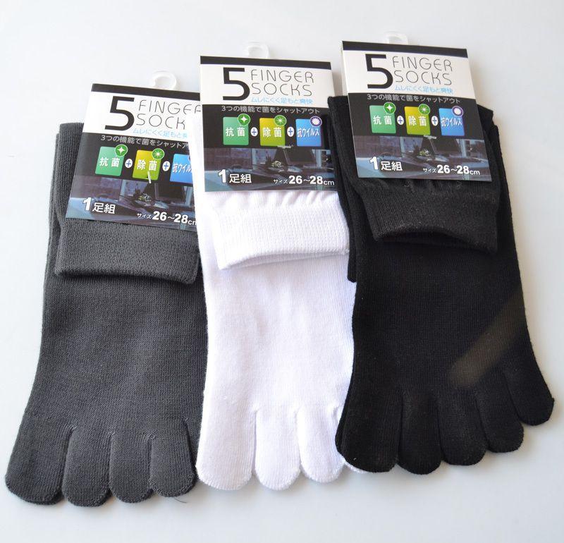 Подарочные носки с раздельными пальцами «Череп»