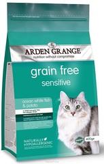 Сухой корм для кошек, Arden Grange Sensitive, с деликатным желудком и/или чувствительной кожей (беззерновой)