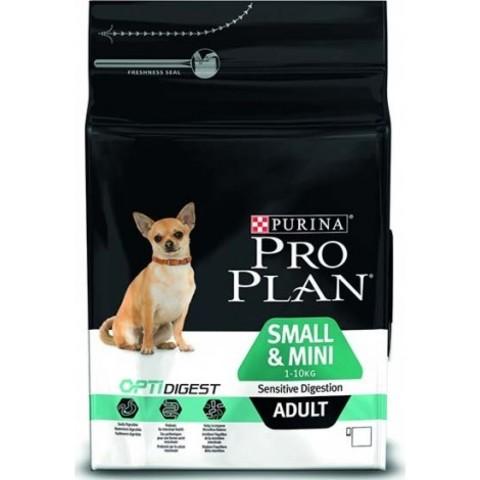 Purina Pro Plan Small & Mini Adult сanine Sensitive Digestion Lamb and rice dry 7 кг