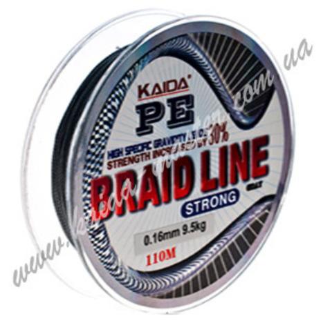 Плетенка BRAID LINE KAIDA strong YX-112-16
