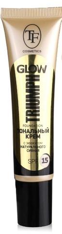 Triumph Крем тональный GLOW TRIUMPH FOUNDATION 204 натуральный CTW22