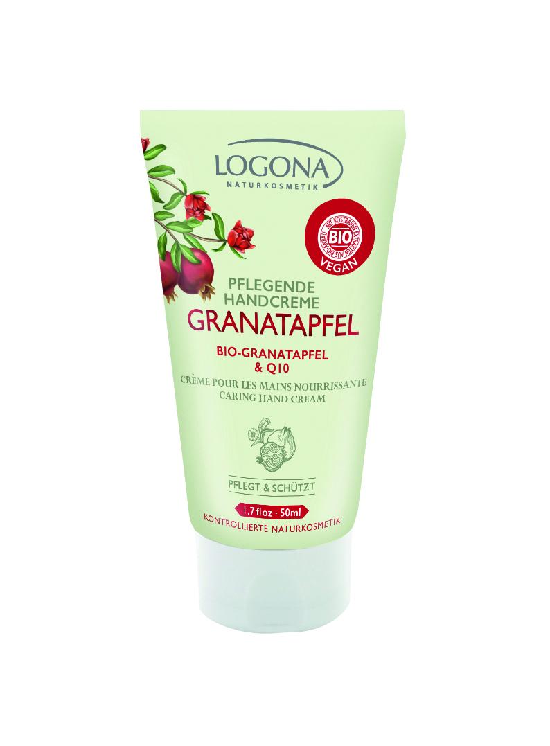 LOGONA Питательный крем для рук с Био-Гранатом и Q10
