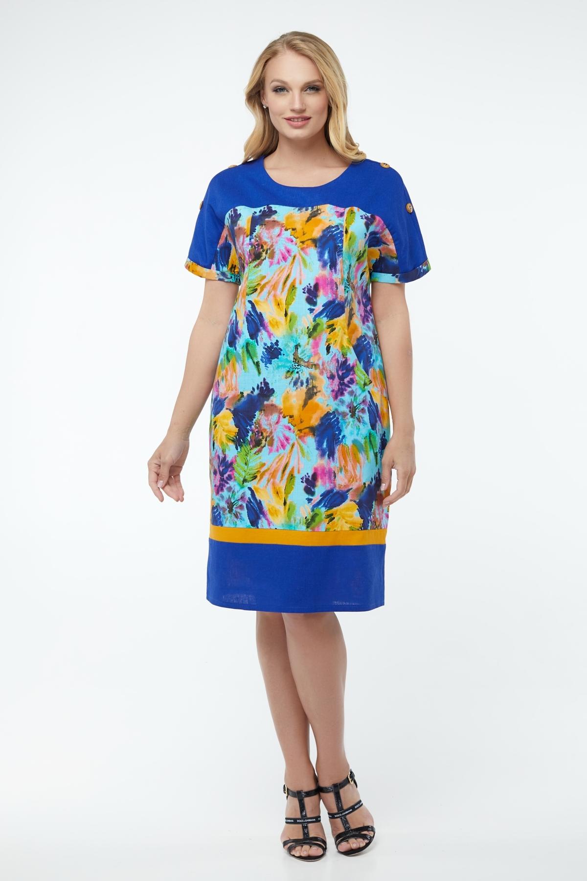 Платье Анюта (электрик)