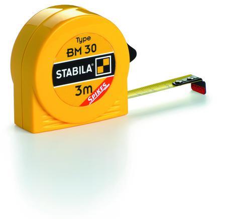 Карманная рулетка Stabila тип BM30 8 метров (арт. 16452)