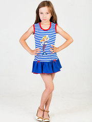 37701 платье детское Морячка