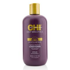 CHI Deep Brilliance Olive & Monoi Optimum Moisture Conditioner - Кондиционер для поврежденных волос