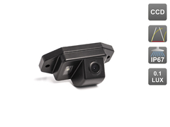 Камера заднего вида для Toyota LC 120 Avis AVS326CPR (#097)