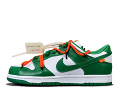 Off-White x Nike Dunk Low 'White/Pine Green'