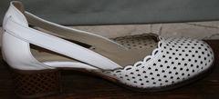 Стильные босоножки Evromoda 101-6 White.