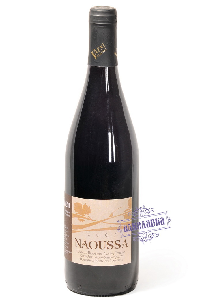 Вино Наусса красное сухое 0,75 12,5%