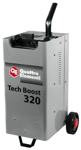 Пуско-зарядное устройство QUATTRO ELEMENTI Tech Boost 320 ( 12 / 24 Вольт, заряд до 45А, п (771-442)