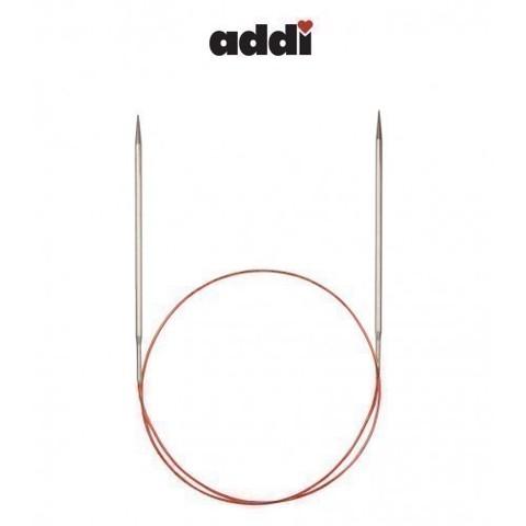 Спицы Addi круговые с удлиненным кончиком для тонкой пряжи 80 см, 4 мм