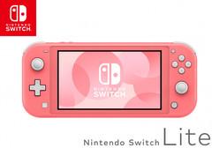 NS: Nintendo Switch Lite (кораллово-розовый)