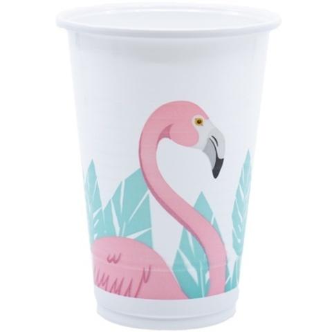 Стакан пласт Фламинго 200мл 8шт
