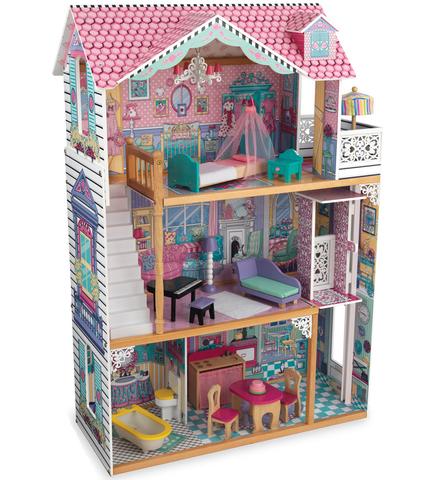 KidKraft Аннабель - кукольный домик с мебелью (в подарочной упаковке) 65934_KE