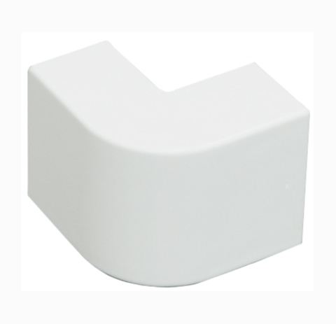 RME Внешний угол плавный стандарт TIA 20/10. Цвет Белый. Ecoplast (ЭКОПЛАСТ). 72201R