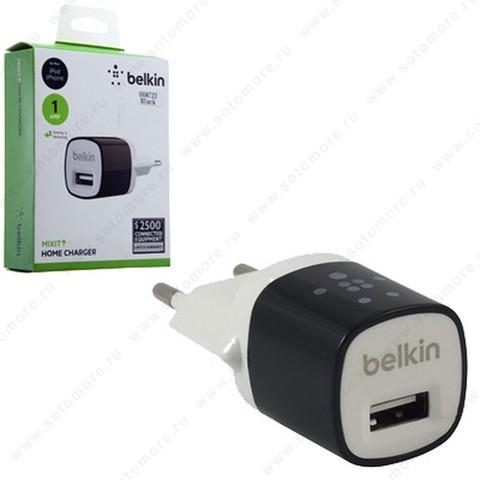 Сетевая зарядка BELKIN 1xUSB 1.0А черный