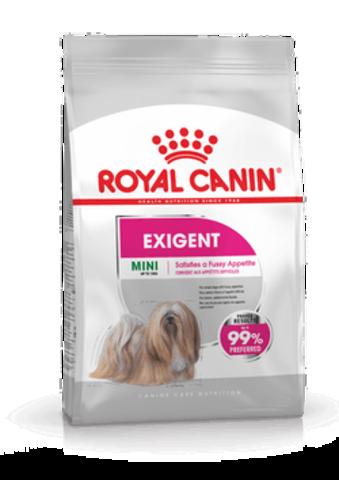 Royal Canin Mini Exigent Мини Экзиджент сухой корм для привередливых собак мелких пород 1 кг