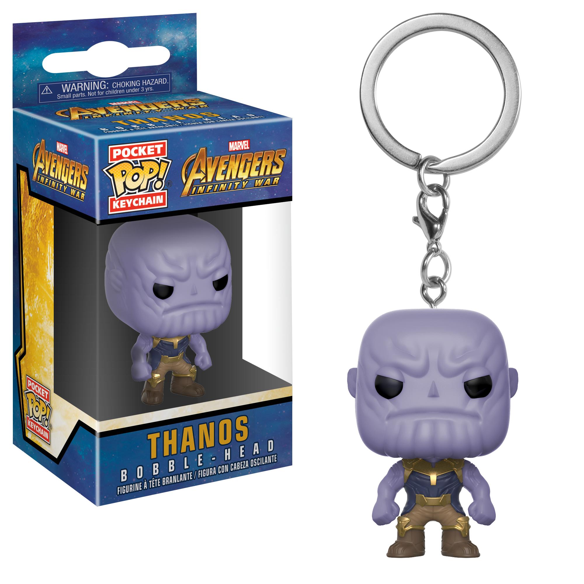 Брелок Funko Pocket POP! Keychain: Marvel: Avengers Infinity War: Thanos 27301-PDQ
